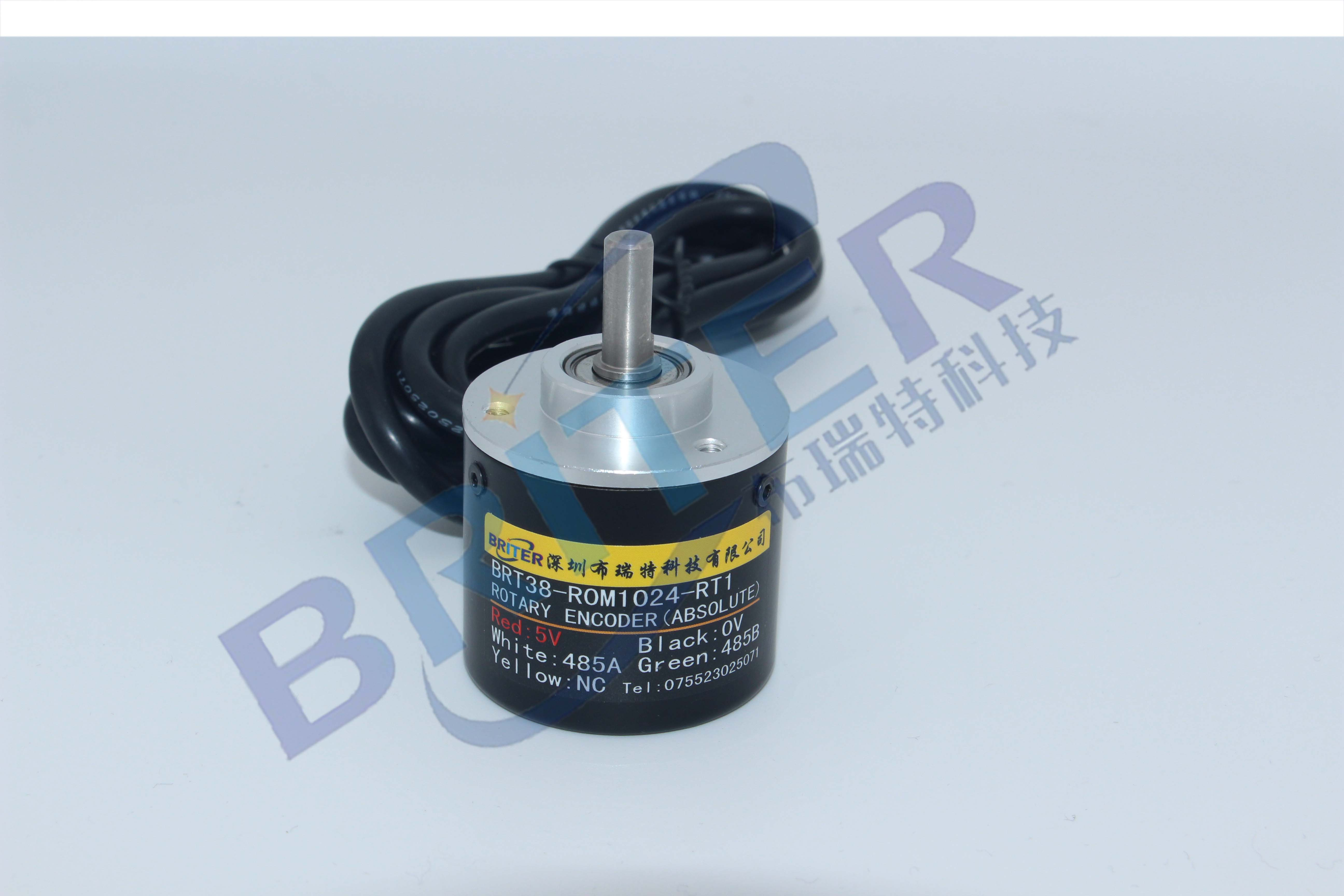 24-turn Encoder Angle Rotation Absolute Value RS485 Magnetic Encoder