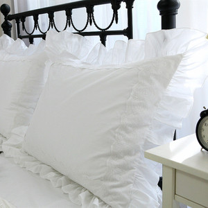 2pcs luxury pillow case Embroi
