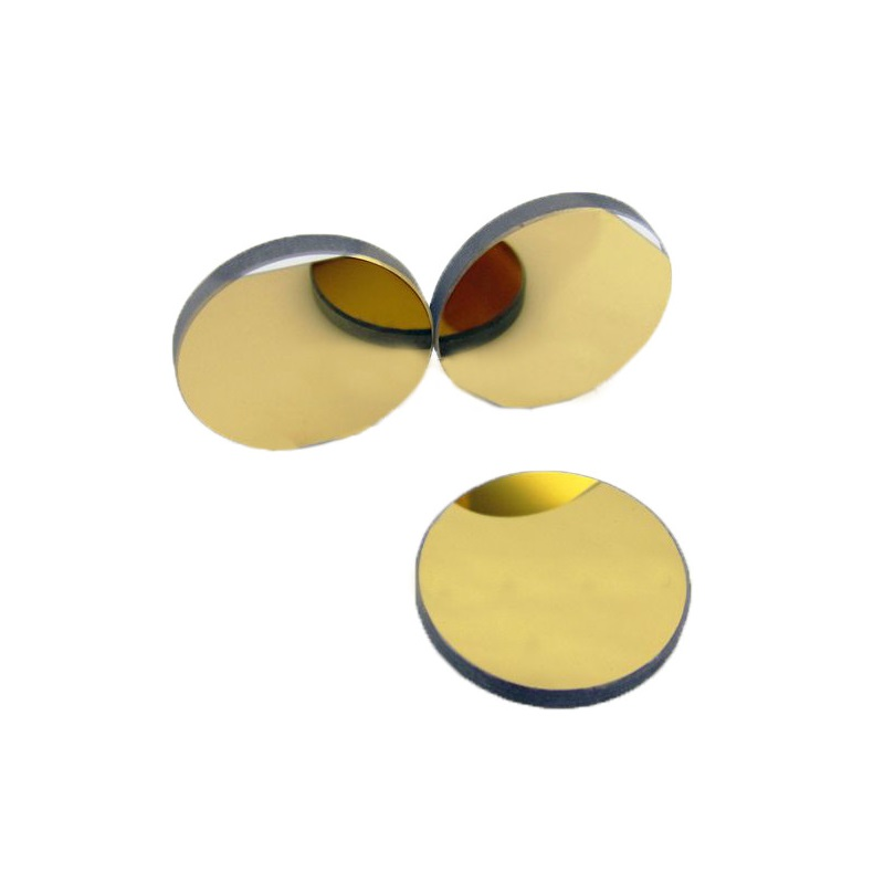 20mm K9 plated gold planar Si mirror <font><b>1064</b></font> <font><b>nm</b></font> silicon Reflection Mirror Reflector f 10600nm CO2 Laser Engraving Cutting image