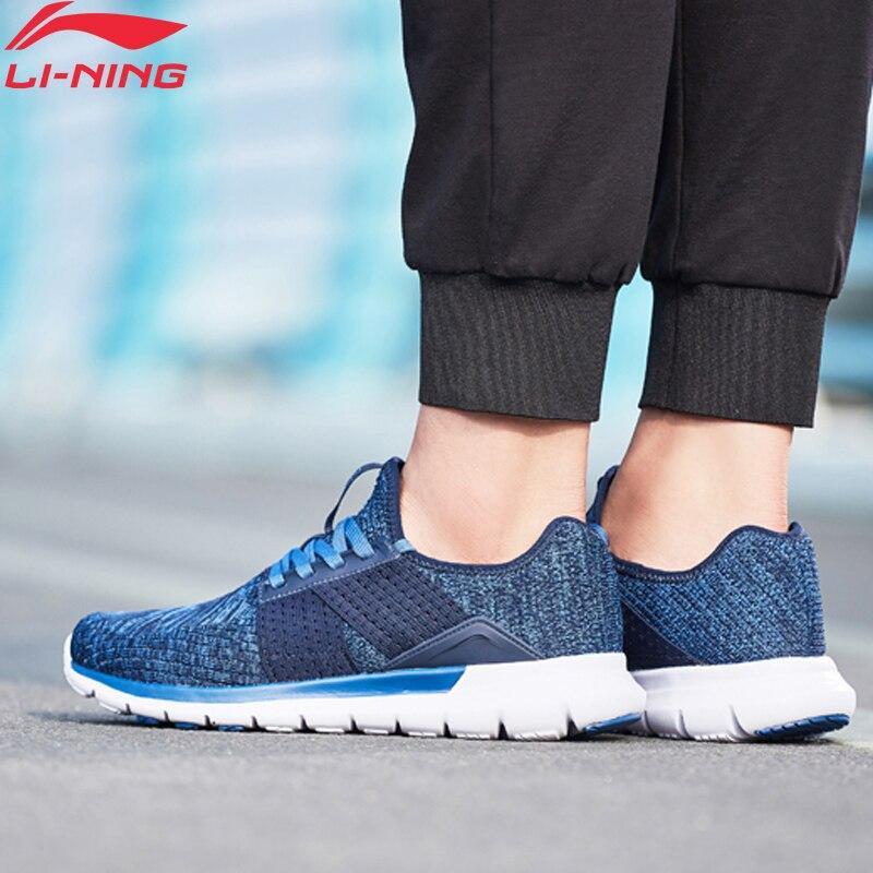 Li-Ning Men FLEX RUN V2 Running Shoes Flexible Light Weight LiNing Li Ning Sport Shoes Cushion Wearable Sneakers ARKN005 XYP660