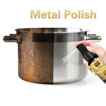 30 Ml Magic Rust Cleaner Spray Derusting Spray Car Maintenance Cleaning Powerful Dirt Removal Rust Remover Kitchen Tools Polish image