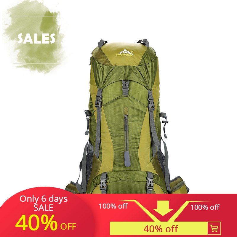 Outdoor Peak New Professional Mountaineering Bag Double Shoulder High Capacity Leisure Fashion