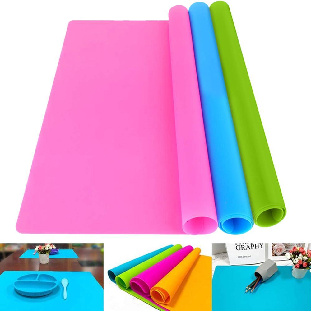 40*30 см силиконовый коврик антипригарный термостойкий коврик для выпечки коврик для стола протектор кондитерский обеденный стол коврик для кухни, принадлежности|Коврики и подложки|   | АлиЭкспресс