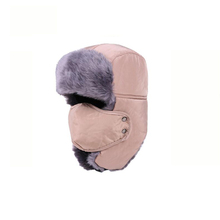 OUBR Mens simple thick cotton hat high quality windproof cold warm brand designer outdoor anti-freeze