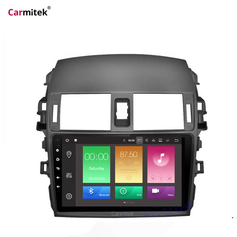 2G + 32G Android Mobil Radio Multimedia Player untuk Toyota Corolla E140 150 2008 2009/2010 2011 2012 2013 Stereo Gps Navigasi 2 DIN
