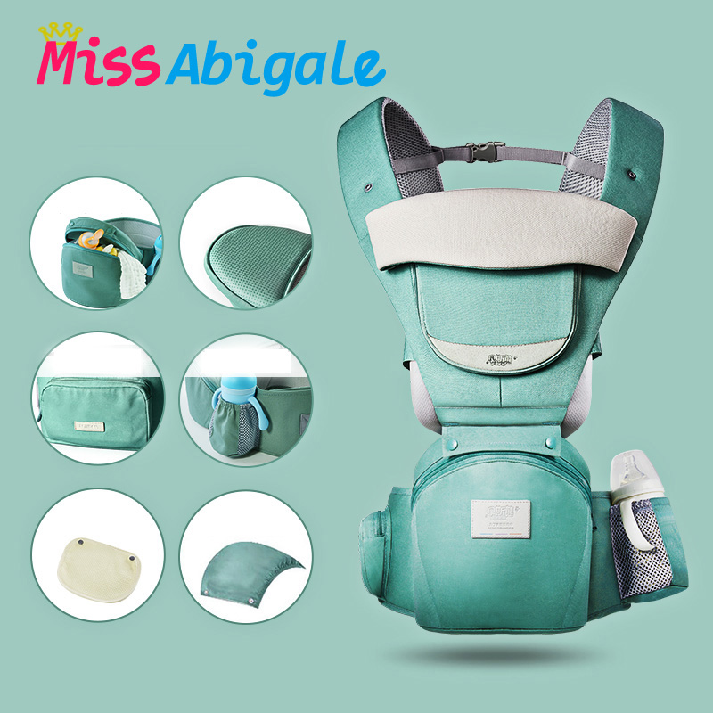 MissAbigale Ergonomic Kangaroo Backpack Baby Carrier Scarf Sling for Newborns Baby Accessories Carrying for Children|Backpacks & Carriers| |  - title=