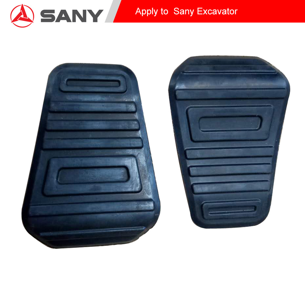 Excavator Interior Trim Decoration Board Spare Parts Walking Rest Pedal Rubber Sleeve Cover For Sany Sy75 60 55 135 215 All