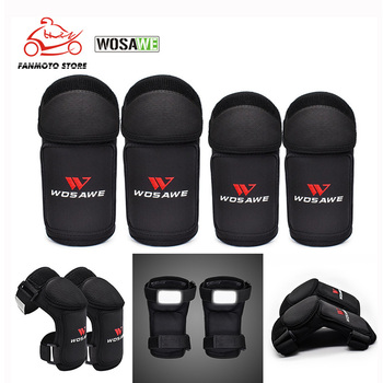 WOSAWE 4pcs Children's Elbow Knee Pads Soft EVA Knee Protector Kids Knee Brace Support for Roller Skating Cycling Snowboarding 1pcs knee pads kids sports knee pads anti collision basketball honeycomb knee pad brace children skating running elbow pad