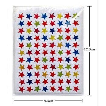 10/sheet Star Shape Stickers Cute Teacher Reward Sticker Gift Kindergarten Kid Hand Body Toys Labels For School Children - discount item  30% OFF Classic Toys