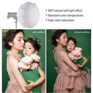 Image 4 - Życie fotografii latarnia styl składany Softbox oświetlenie modyfikatory okrągły kształt miękkie pudełko dla Studio Speedlite światło stroboskopowe światło