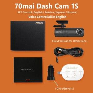 Image 5 - 英語音声制御70maiスマートダッシュカム1s 1080 1080p優れたナイトビジョン70舞1 4s車のレコーダーwifi車dvrビデオdashboad