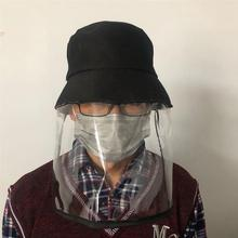 цена на Anti-droplets Hat Full Face Mask Protective Cap Reusable Outdoor Face Mask Protector Anti-spit Cap for Men Women