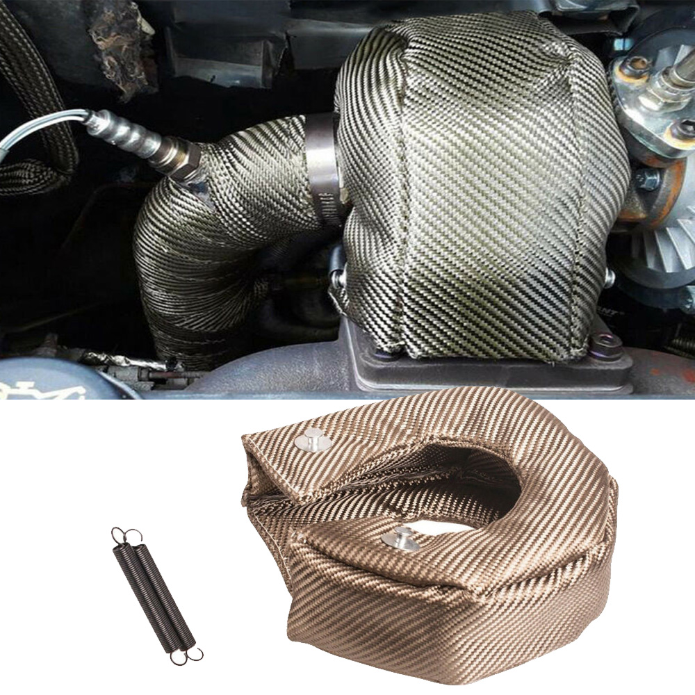 Car Accessories Turbo Blanket T3 Cover For Thermal Heat Shield With Fastener Springs Turbo Chargers Part Turbocompresor
