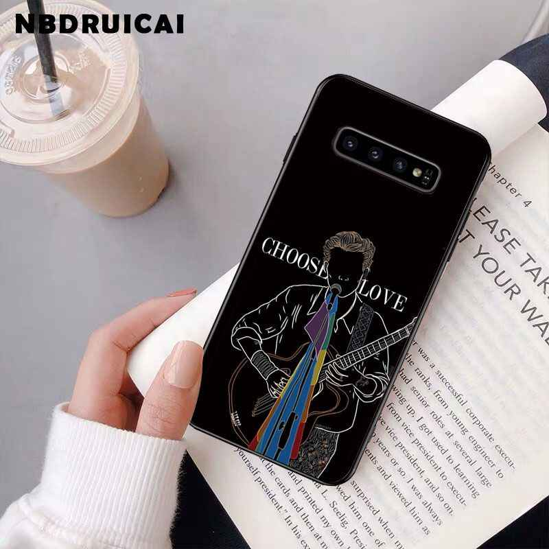 NBDRUICAI Harry Styles Treat People With Kindness Phone Case for Samsung S9 plus S5 S6 edge plus S7 edge S8 plus S10 E S10 plus