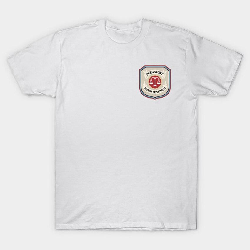 Image 2 - Purgatory Sheriff Department T Shirt Wynonna Earp T Shirt wynonna earp tv series doc holliday purgatory pride wayhaught wearpT-Shirts   -