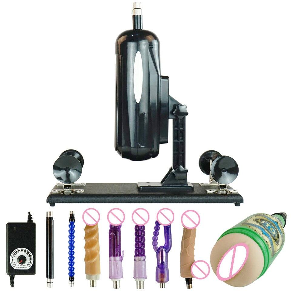 FREDORCH автоматическая секс машина, выдвижная машина для любви для мужчин и женщин, Мужской Вибратор с внутренней резьбой, фаллоимитатор для с