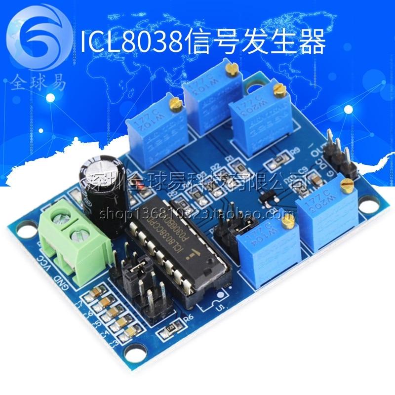 10HZ-450HZ ICL8038 Medium Low Frequency Signal Source Triangular Rectangular Signal Generator Triangular Signal Generator Signal Generator Module