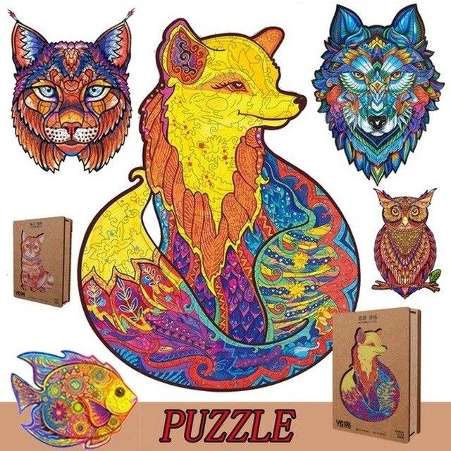 Unidragon Wooden Puzzle Jigsaw Puzzle Puzzel Wooden Jigsaw Puzzle En Bois Houten Puzzel Wooden Puzzles for Adults Puzzle Bois 1