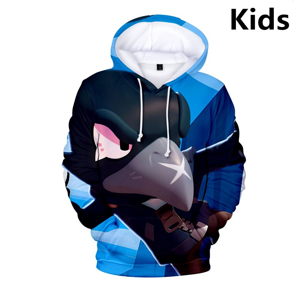 3 To 13 Years Kids Hoodies Shooting Game 3d Printed Hoodie Sweatshirt Boys Girls Harajuku Long Sleeve Jacket Coat Teen Clothes