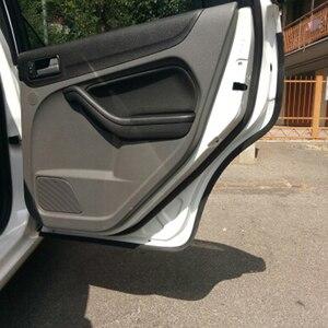 Image 5 - Joints détanchéité en caoutchouc pour porte de voiture, Type P, bande détanchéité Anti poussière, isolation phonique