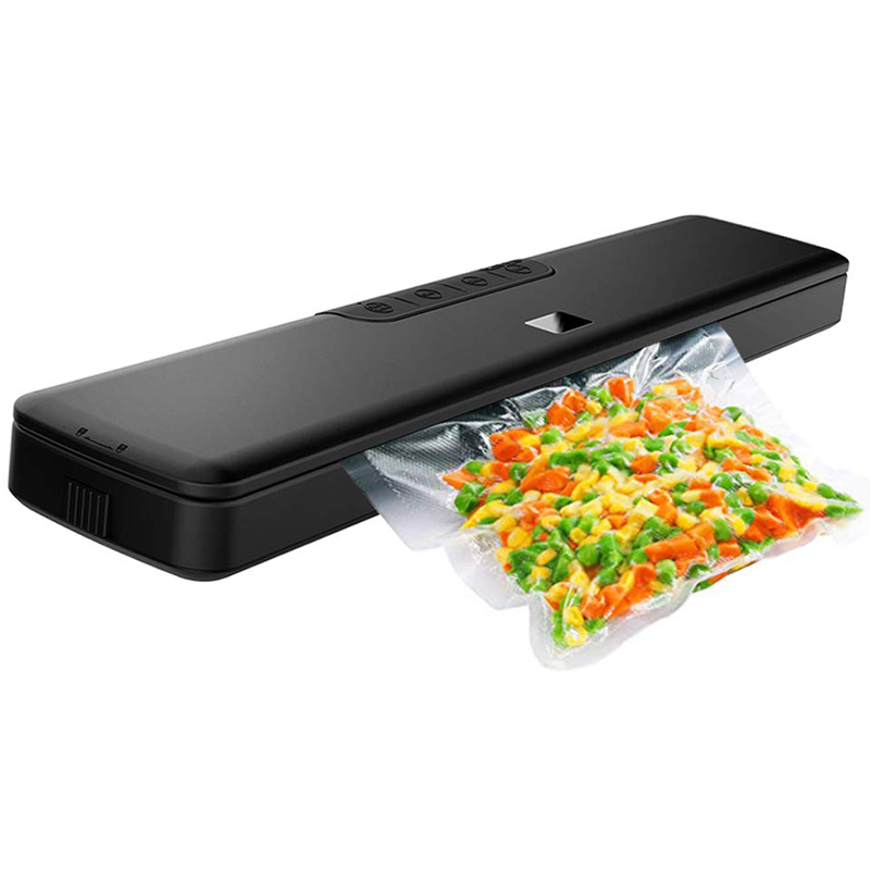 Food Vacuum Sealer Machine,Automatic Vacuum Sealing System for Food Preservation with Starter Kit - Sealing Machine with Dry & M