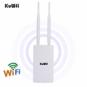 Image 1 - 야외 무선 와이파이 리피터 와이파이 익스텐더 300Mbps 2.4GHz 액세스 포인트 와이드 영역 방수 와이파이 앰프 와이파이 라우터