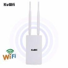 Ao ar livre sem fio wifi repetidor wi fi extensor 300mbps 2.4ghz ponto de acesso wide area à prova dwide água wi fi amplificador wi fi roteador