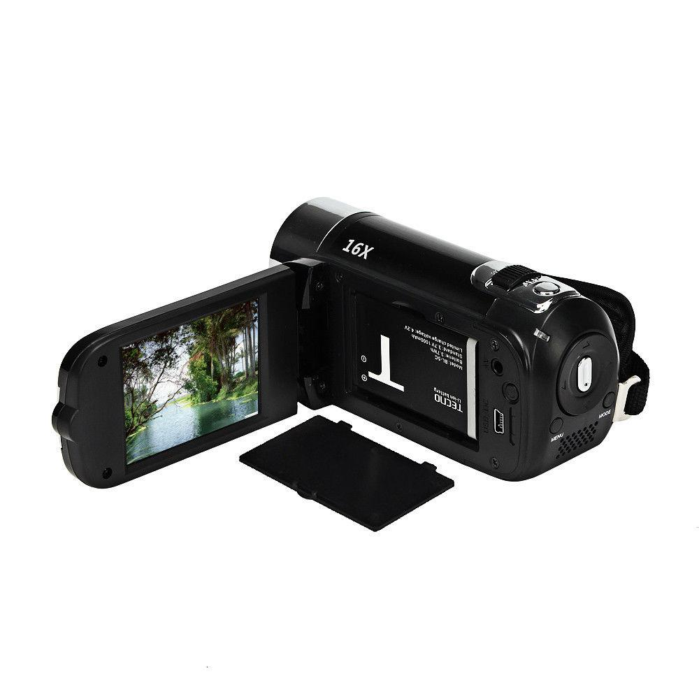 Full Hd 1080P Video Camera Professionele Digitale Camcorder 2.7 Inch 16MP High Definition Abs Fhd Dv Camera 270 Graden rotatie 5