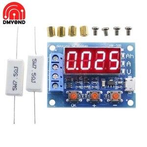 ZB2L3 батарея тестовый er светодиодный цифровой дисплей 18650 литиевая батарея источник питания тестовое сопротивление свинцово-кислотный изме...
