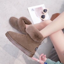 Women snow boots 2020 hot sale new trend winter autumn ankle