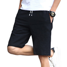 2020 letnie szorty na co dzień męska modna bawełniana styl męskie szorty bermudy plażowe szorty Plus rozmiar krótkie męskie męskie spodenki sportowe # g35 tanie tanio Daily POLIESTER CN (pochodzenie) summer Niskie Troczek Stałe REGULAR LOOSE Z KIESZENIAMI pants men casual pants men trousers