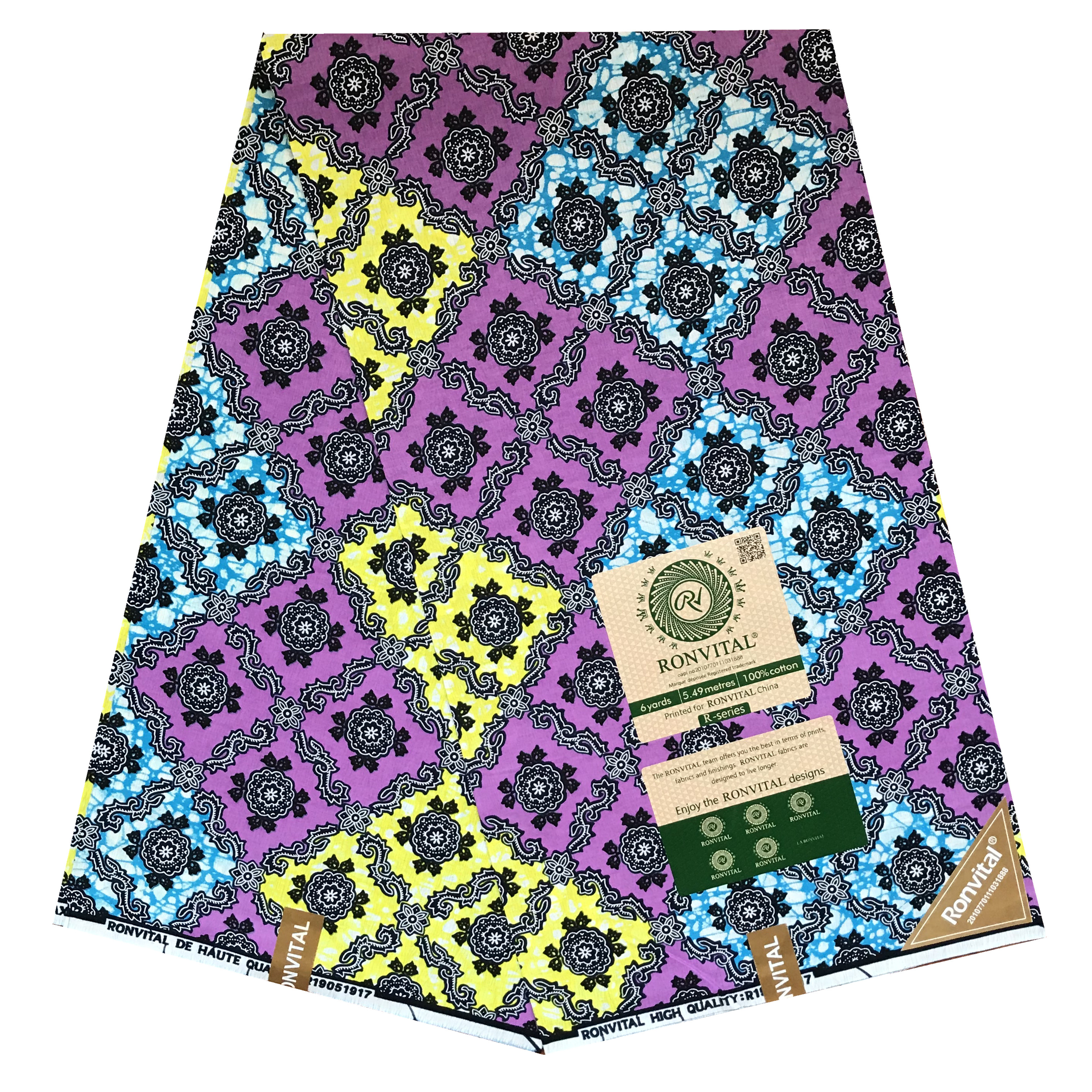 African Dutch Wax Ankara Fabric 2020 Latest African Fabric Print Dutch Veritable 100% Cotton Pagne Africain Hot Wax