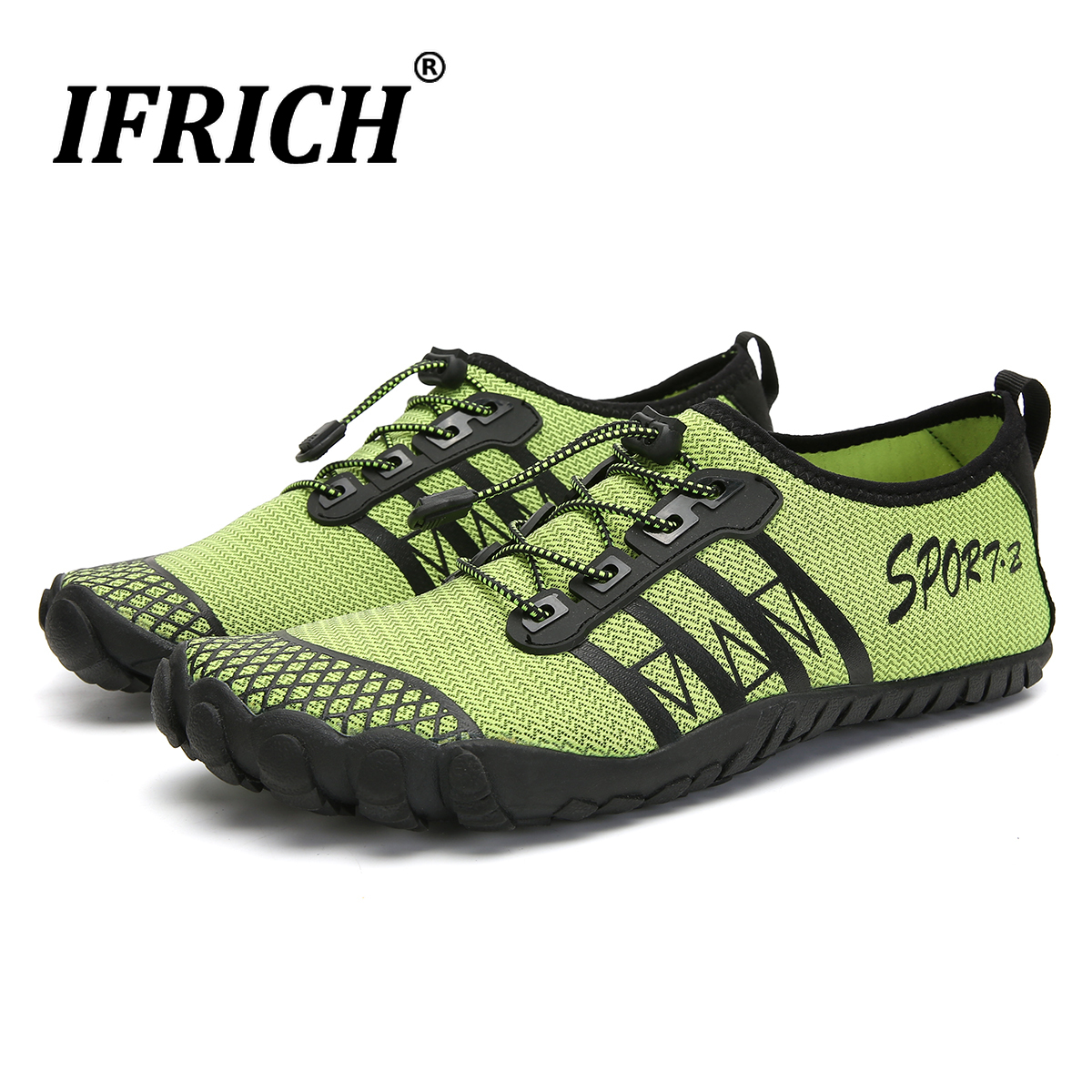 Mens Water Shoes Aqua Swim Shoes Walking Beach Tennis Sports Quick Dry Barefoot Sock For Boating Fishing Diving Surfing Upstream