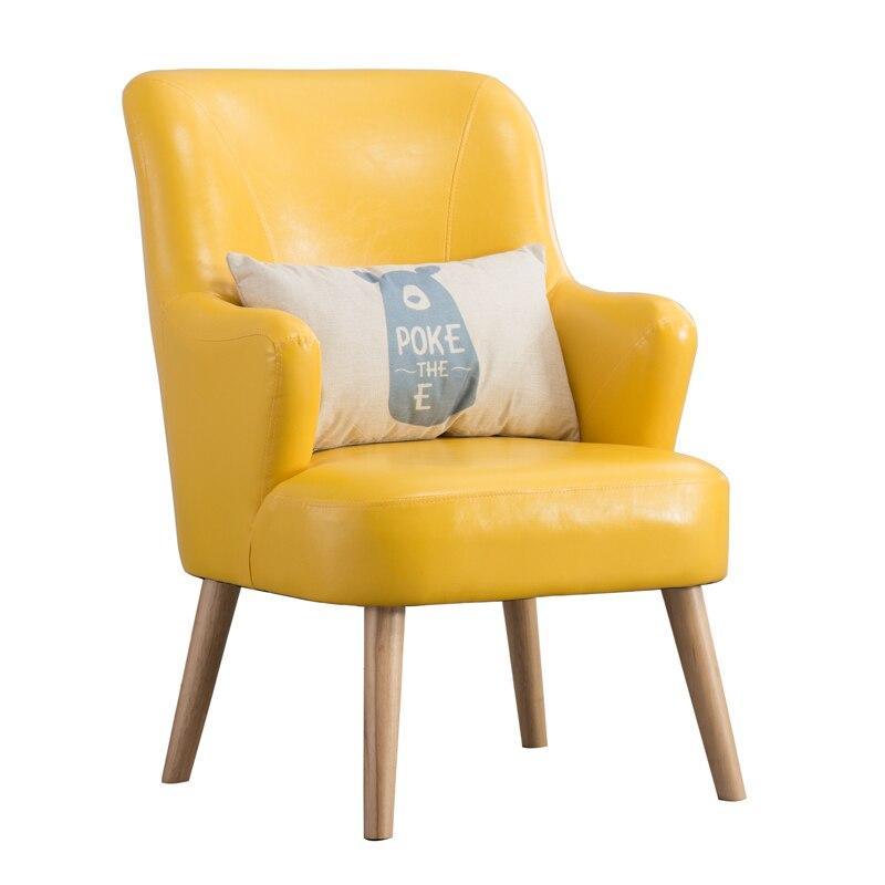 Nordic Single Sofa Chair Single Sofa Leisure Creative Couch Chair Balcony Bedroom Small Sofa