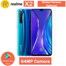Realme X2 X 2 глобальная версия CN версия Snapdragon 730G 6,4 ''полный экран NFC OPPO мобильный телефон VOOC 30W быстрое зарядное устройство