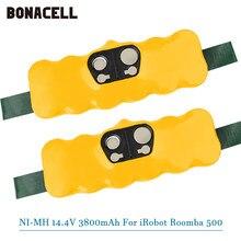 14.4V 3800mAh Bateria NI-MH para iRobot Roomba 500 510 530 532 534 535 540 550 560 562 570 580 600 610 700 760 770 780 800 980 R3