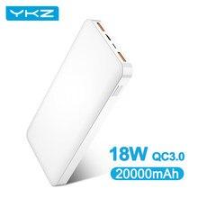 YKZ – batterie externe Portable, 20000 mAh, 20000 mAh, pour Xiaomi Mi
