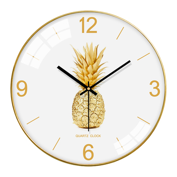 Nordic Bedroom Glass Wall Clock Modern Design Wall Clocks Decorative Watches For Kitchen Living Room Novelty Watch Decor II50WC