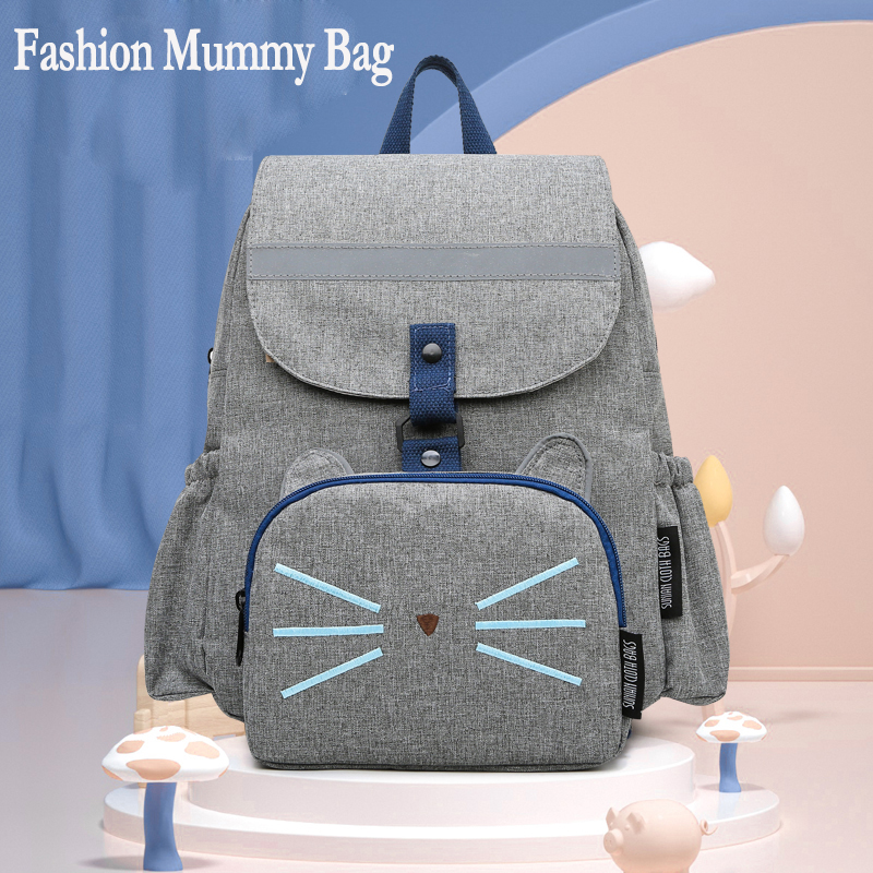 Baby Diaper Bags Backpack Multi-function Mummy Maternity Nappy Bag Fashion Mom Travel Backpack Organizer Mommy Daiper Bags