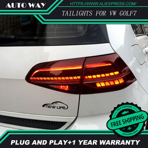 Image 5 - Car Styling case for Volkswagen VW Golf 7 MK7 Golf7 Golf7.5 MK7.5 taillights TAIL Lights All LED Rear Lamp dynamic turn signal
