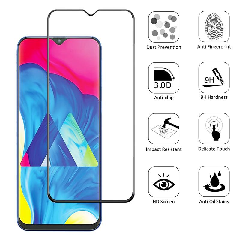9D Tempered Glass For Samsung Galaxy A20 A10 A50 A40 A30