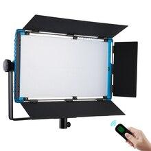 75W Yidoblo A 2200BI LED Video Lighting DMX Panel Ultra Bright Warm & Cold Professional Studio Photography Continue Lighting