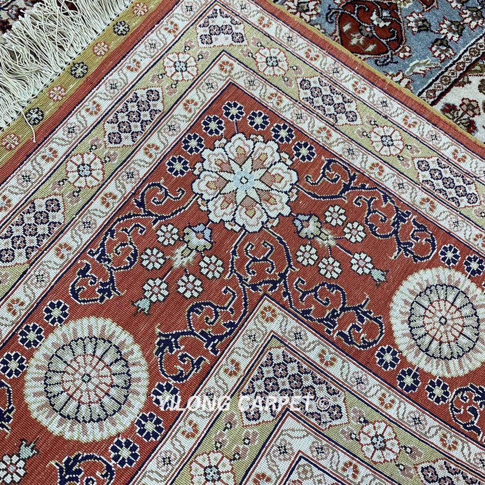 Yilong 6'x9 'градински дизайн кашмир килим - Домашен текстил - Снимка 6
