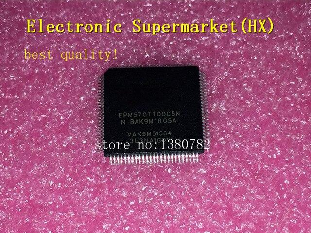 Livraison gratuite 10 pcs/lots EPM570T100C5N EPM570T100 EPM570 TQFP 100 IC en stock!