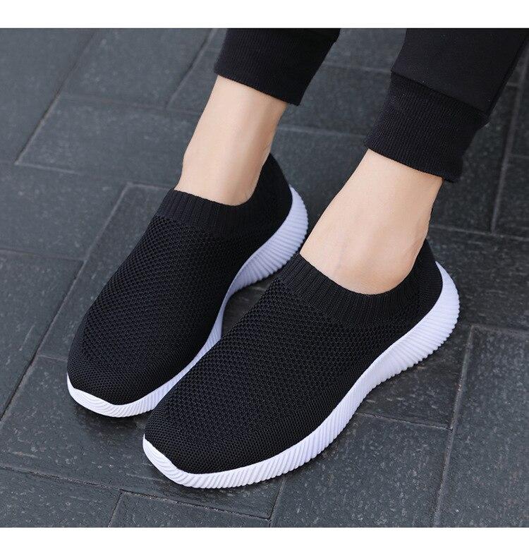 vulcanizado sapatos 2021 verão luz malha respirável feminino tênis de corrida