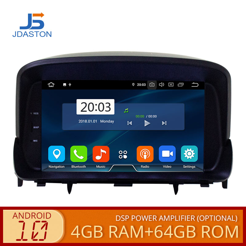 JDASTON Android 10,0 Auto DVD Player Fü<font><b>r</b></font> OPEL <font><b>MOKKA</b></font> WIFI Multimedia GPS Navigation Stereo 2 Din Auto Radio Autoaudio Video player image
