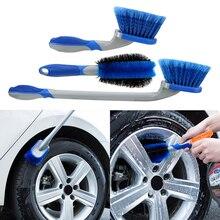 LEEPEE Car Wash Combination Tool Tyre Car Cleaning Brush Car Wheel Dust Brush  Car Detailing Car Washing Tool Multi Functional