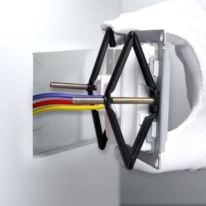 Image 1 - Bcsongben caja trasera de 86x86mm para reparación de casetes, soporte para reparación, accesorios para electricistas