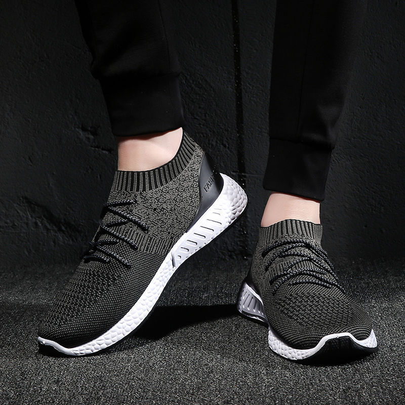 Nice Men Vulcanize Shoes New Sneakers Breathable Casual Nice Male Air Mesh Lace  Up Shoes Tenis
