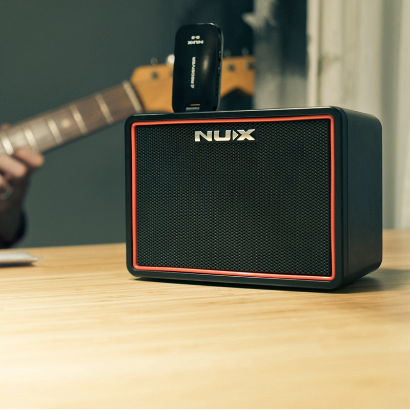 Nux Mighty Lite Bt Mini Bluetooth Desktop Guitar Amplifier Portable Multifunction Guitar Amp With Drum Machine Eu Elug